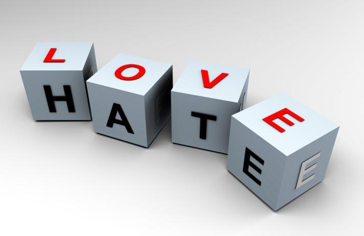 shutterstock-Love-Hate